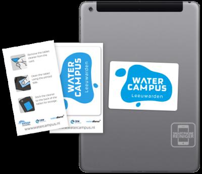 Water Campus Leeuwarden Tablet Reiniger
