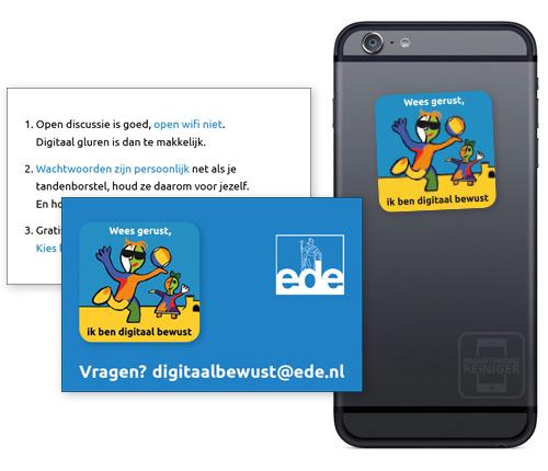 gemeente Ede smartphone reiniger